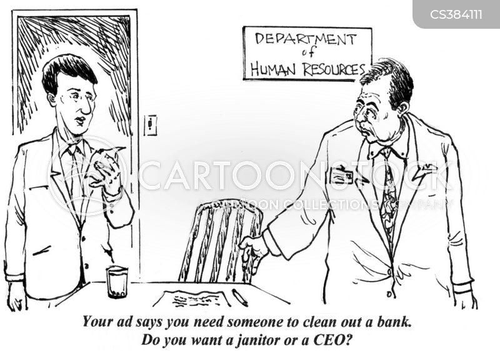 classified ad cartoon