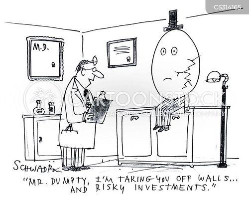 broken egg cartoon