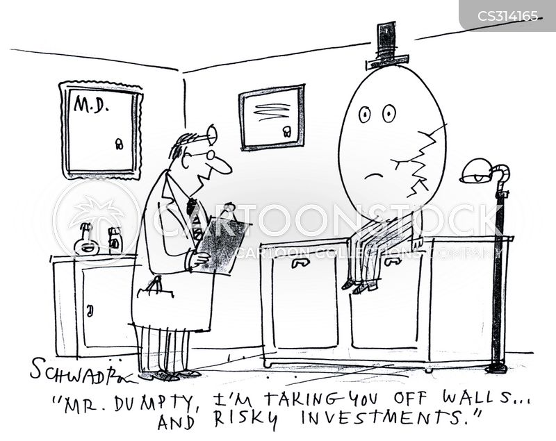 broken eggs cartoon