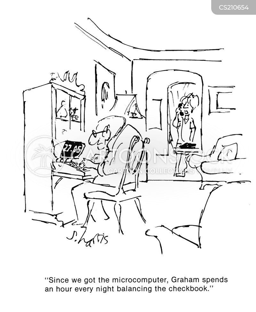 new computers cartoon