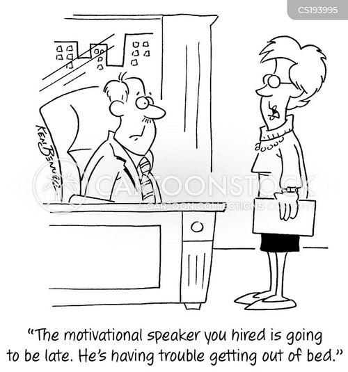 motivational speakers cartoon