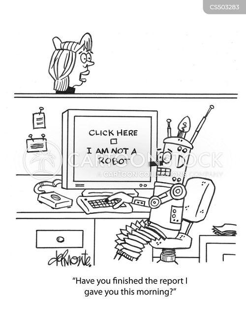 captcha cartoon