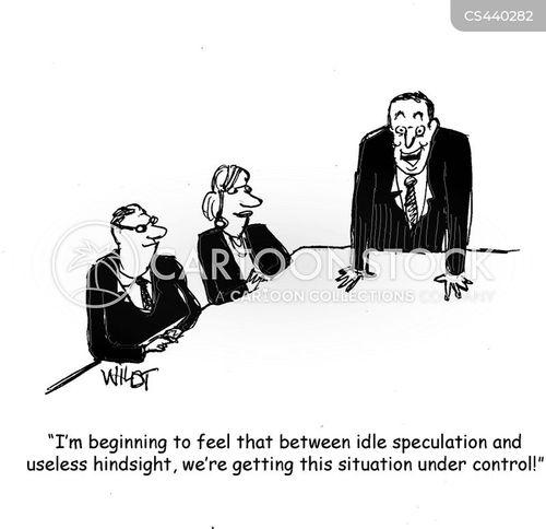 crisis meetings cartoon