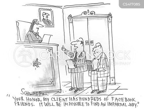 impartial cartoon
