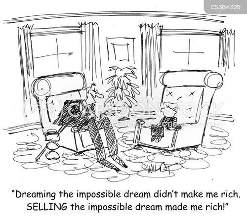 impossible dream cartoon