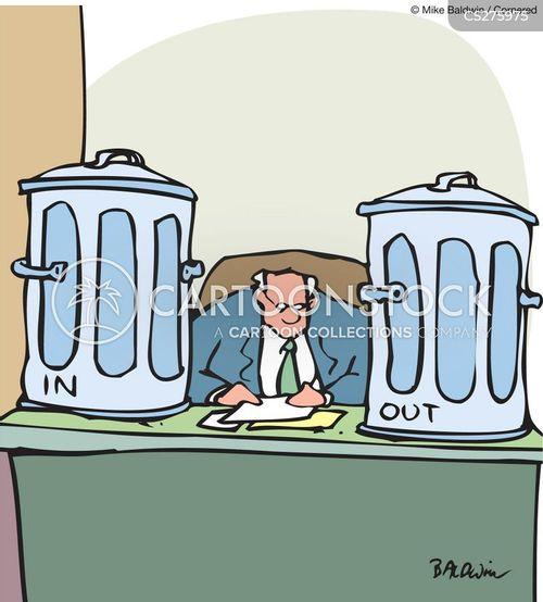 in-box cartoon