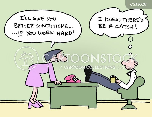 better conditions cartoon