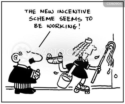 incentive scheme cartoon