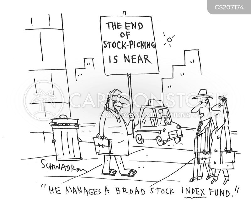 Index Funds Cartoons And Comics Funny Pictures From Cartoonstock