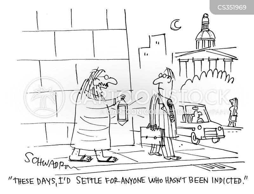 indictments cartoon
