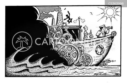 war ship cartoon
