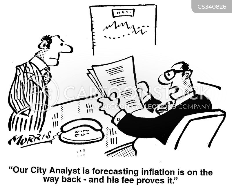 city analyst cartoon