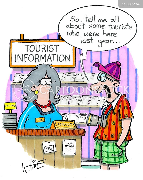 vacationer cartoon