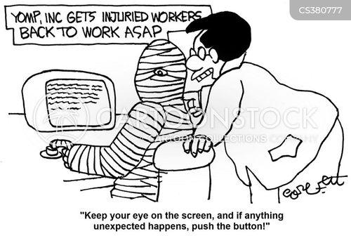 back to work cartoon