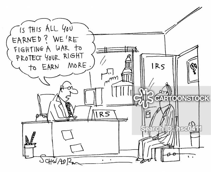 internal revenue serivce cartoon