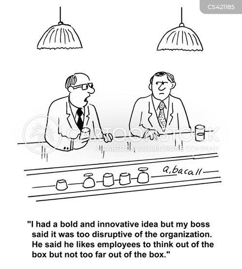 disruptive cartoon