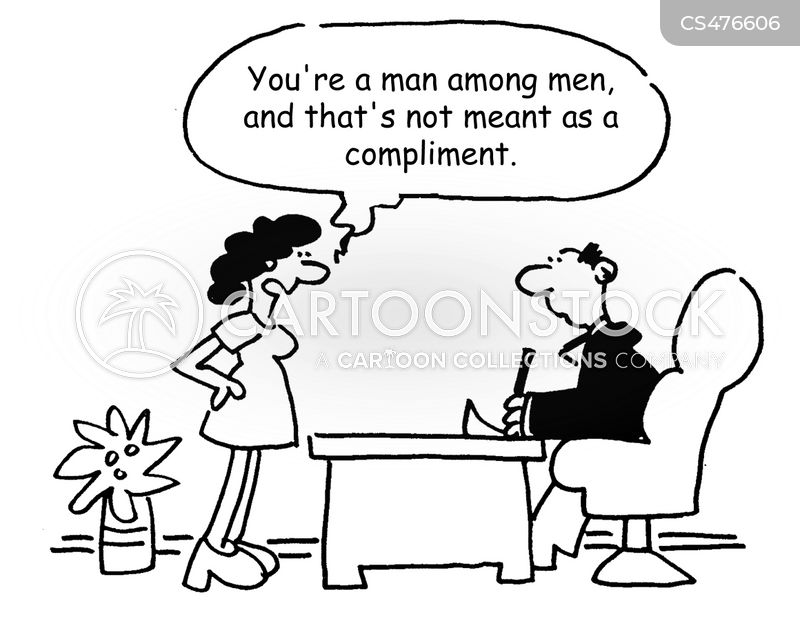 gender-role cartoon
