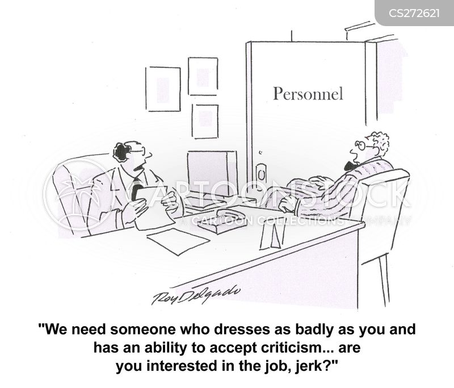 accepting criticism cartoon