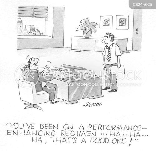performance enhancing cartoon