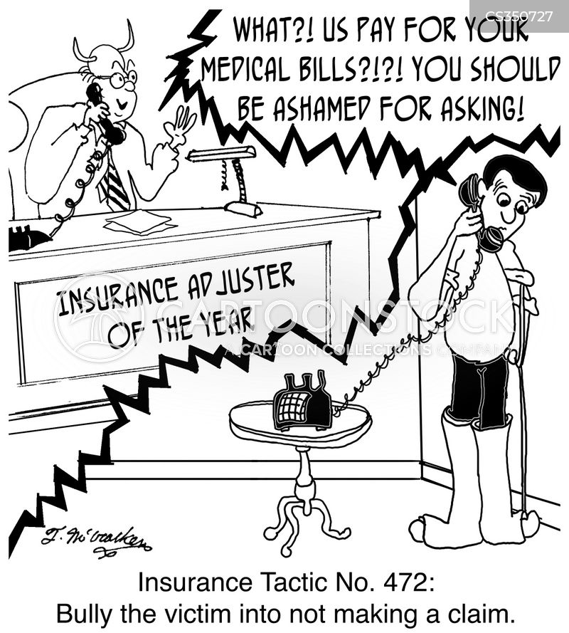 insurance adjuster cartoon