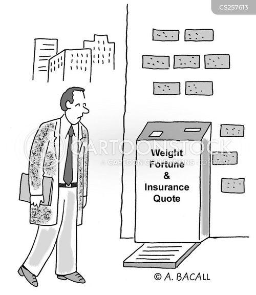 weight reader cartoon