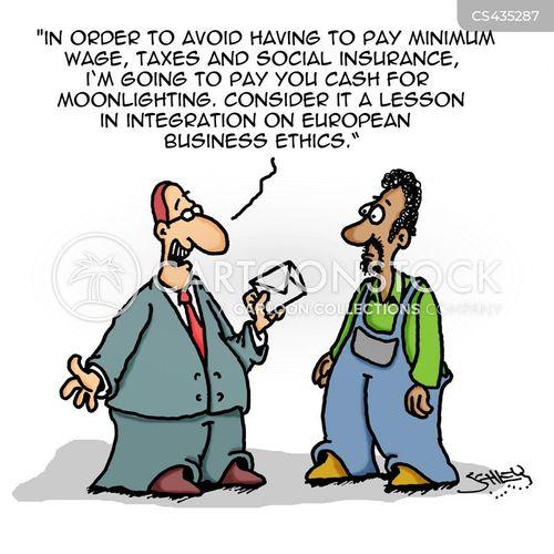 integration cartoon