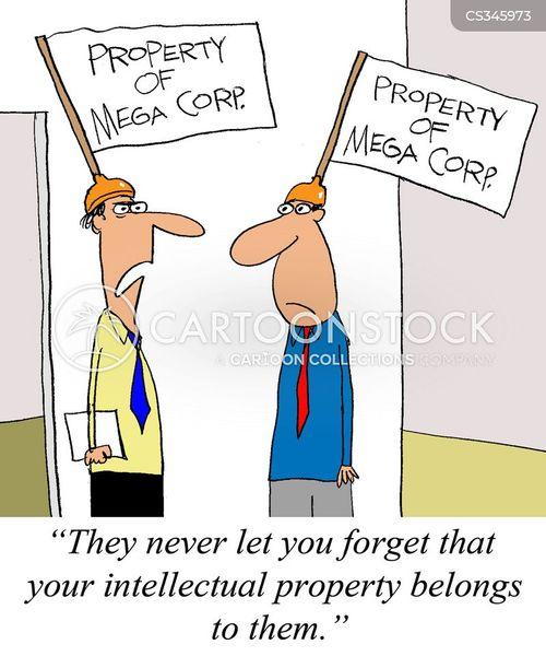 evil corporation cartoon