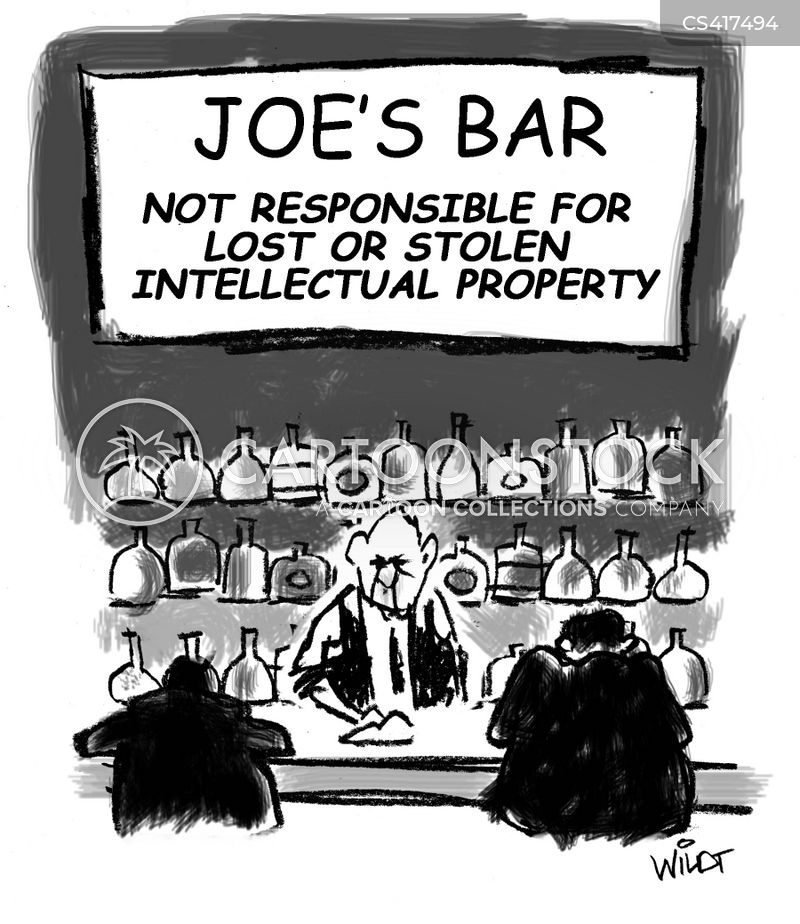 intellectual property theft cartoon