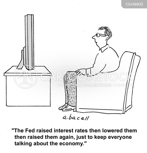 economic news cartoon