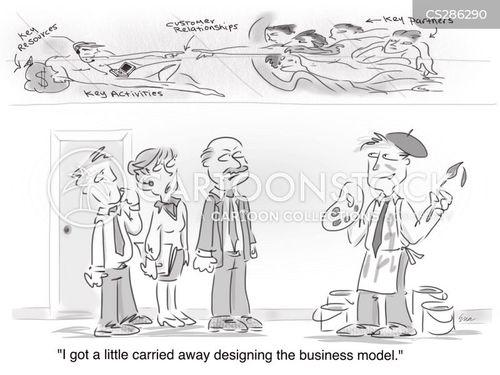 carried away cartoon