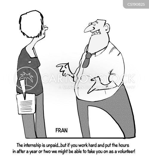 unpaid internships cartoon