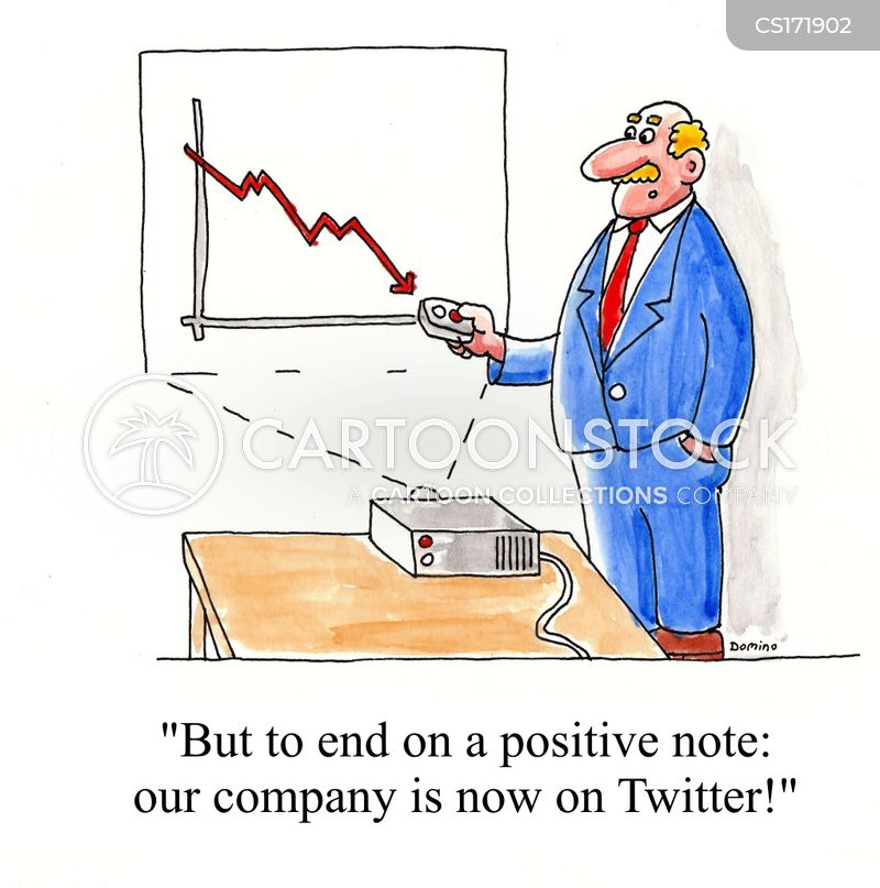 business loss cartoon