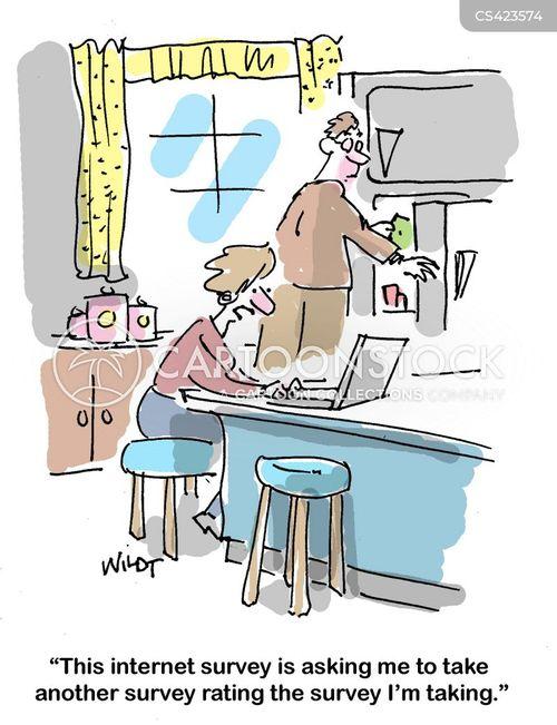market analysis cartoon