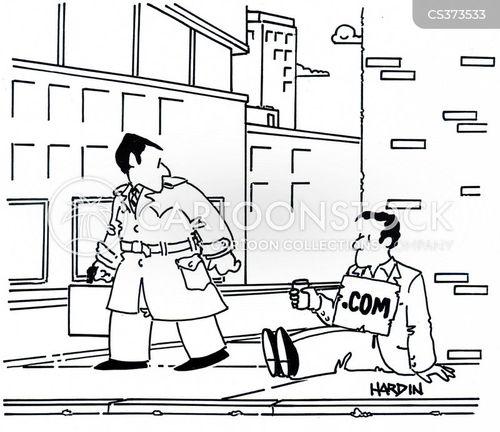 dot-com boom cartoon