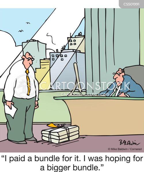 bad deal cartoon