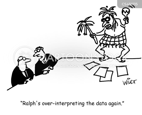 interpret cartoon