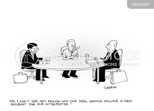 interpreters cartoon