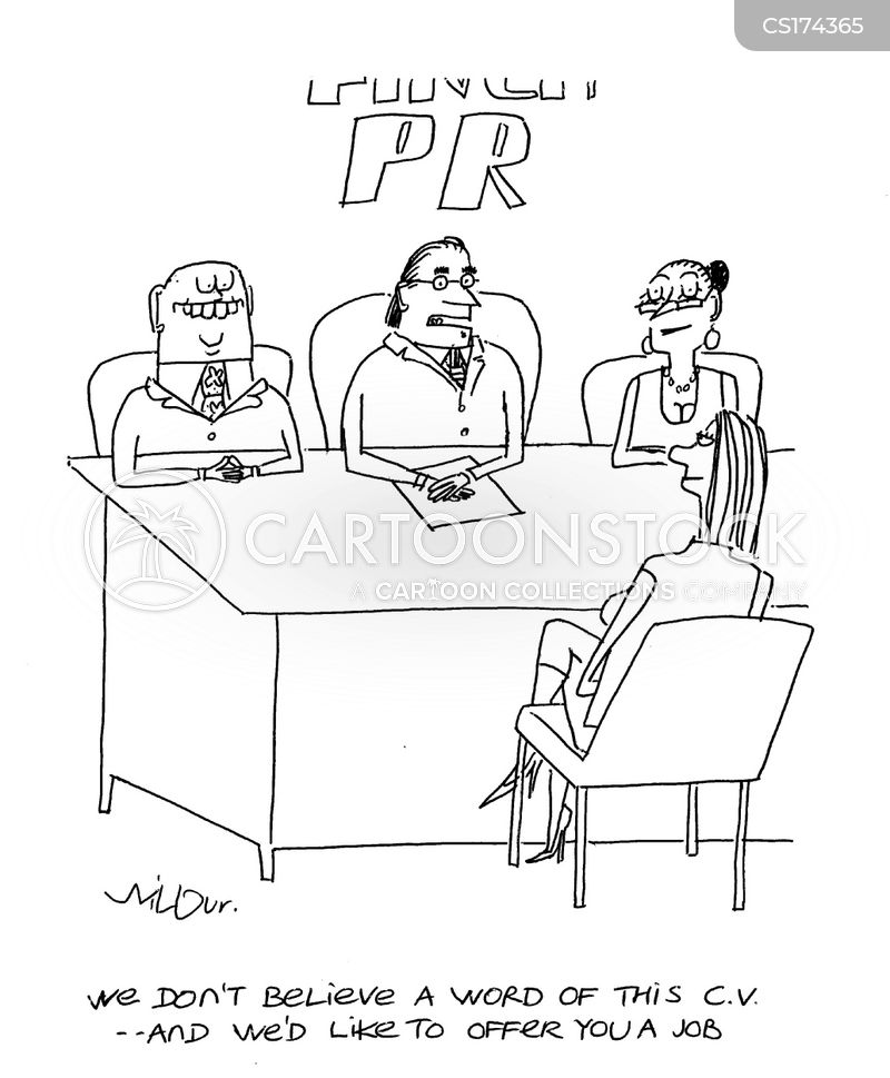 pr firm cartoon