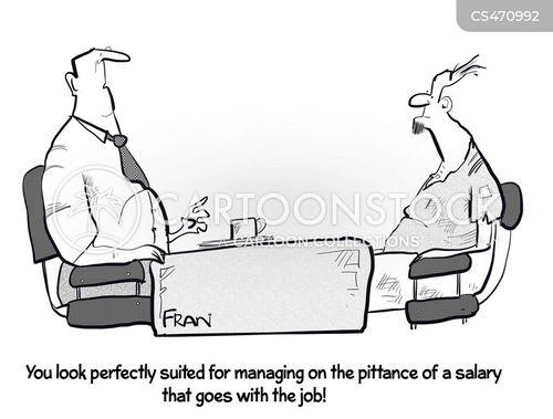 pittance cartoon