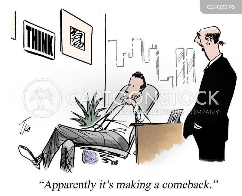 come backs cartoon