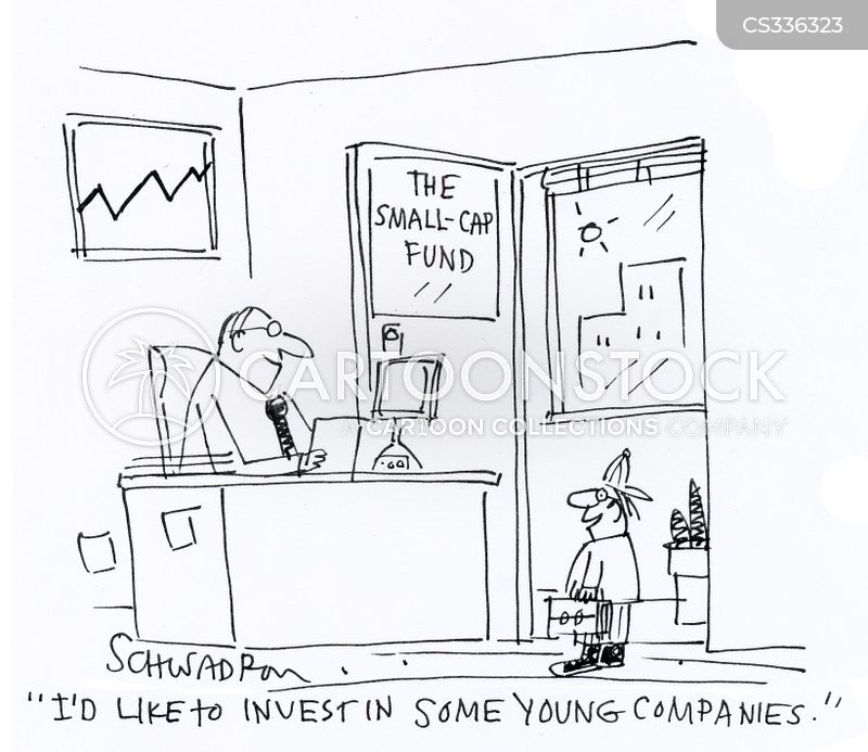 young businesses cartoon