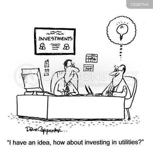 utilities cartoon