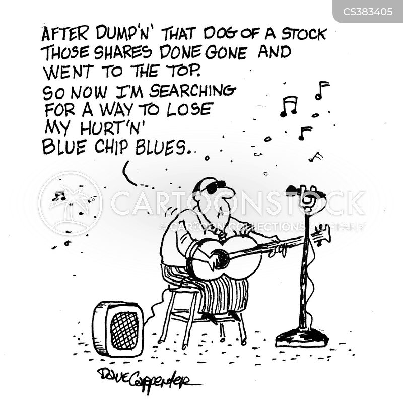 blues singers cartoon