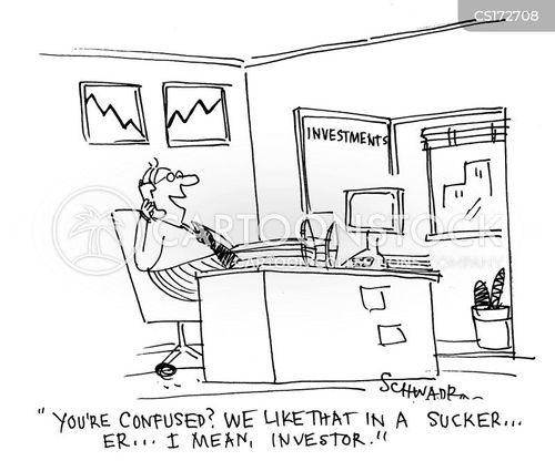 share prices cartoon