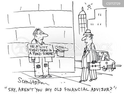 ponzi scheme cartoon