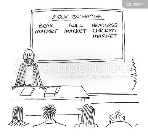 bull market cartoon