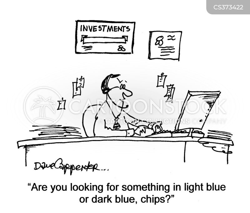 blue chip cartoon