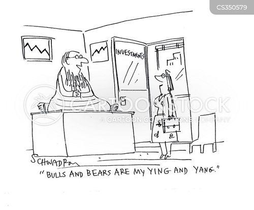 investment gurus cartoon