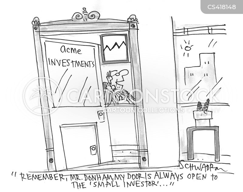 open door policy cartoon