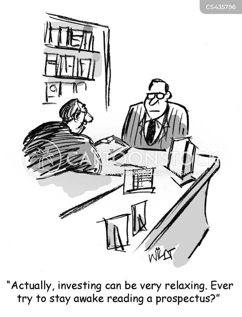 prospectus cartoon